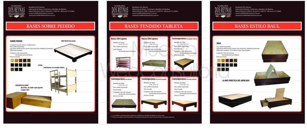Publicidad impresa en monterrey portafolio de proyectos for Mueblerias on line